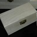 1 db kicsi  natúr doboz fa, Fa, Doboz, 1 db doboz 12,5x6,5x5,5cm Az ár 1 dobozra vonatkozik., Alkotók boltja