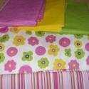 Pink-zöld csíkos stretch vászon 140 cm széles 1.390.-Ft. métere, Textil, Pamut, A fotóról kérlek csak a csíkos anyagot vedd figyelembe - köszi :o)  Kellemes viselet  variálható - k..., Alkotók boltja