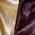 Arany szatén dekor és sok más szín 150 cm - varrással is, Elegáns, kellemes  finoman fényes  csodás arany...