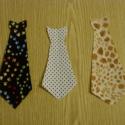 Pólóra vasalható nyakkendő - Ötletfotóval -nyakkendő - többféle 350.-Ft, Textil, Felvarrható kellék, Dobd fel ruhatárad!  Vasalható textilmatrica - rátét  Újdonság!!!  Nyakkendők  1 db 350.-Ft  méret: ..., Alkotók boltja