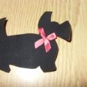 Textilmatrica - vasalható - masnis kutyák - többféle 250.-Ft, Textil, Felvarrható kellék, Dobd fel ruhatárad!  Vasalható textilmatrica - rátét  Újdonság!!!  Cicuskák - macskák - nyaúúúk  Mas..., Alkotók boltja
