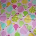 Körtés nagyon cuki USA egyedi Design textil:o)  55 x 30 cm minőségi textil  USA design , Textil, Pamut, Mindenmás, Varrás, Textil, Kiváló minőségű - egyedi tervezésű - jogvédett termék -  Textil - akár - pachwork - anyag  USA Desi..., Alkotók boltja