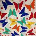 Vidám lepkék USA egyedi Design textil:o)  57,5 x 30 cm minőségi textil  USA design , Textil, Pamut, Mindenmás, Varrás, Textil, Kiváló minőségű - egyedi tervezésű - jogvédett termék -  Textil - akár - pachwork - anyag  USA Desi..., Alkotók boltja
