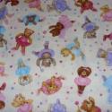 Mackós 3 féle cuki USA egyedi Design textil:o)  55 x 30 cm minőségi textil , Textil, Pamut, Kiváló minőségű - egyedi tervezésű - jogvédett termék -  Textil - akár - patchwork - anyag  USA Desi..., Alkotók boltja