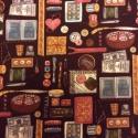Kreatívos - alkotóknak  55 x 30 cm minőségi textil  USA design , Textil, Pamut, Kiváló minőségű - egyedi tervezésű - jogvédett termék -  Textil - akár - pachwork - anyag  USA Desig..., Alkotók boltja
