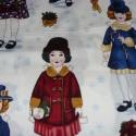 Csajos-kislányos-babás- patchwork textil 55 x 30 cm minőségi  USA design , Textil, Pamut, Mindenmás, Varrás, Textil, Kiváló minőségű - egyedi tervezésű - jogvédett termék -  Textil - akár - patchwork - anyag  USA Des..., Alkotók boltja
