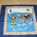 Nyár és Tál évszakok kis blokk patchwork USA design minőségi  textil 30 x 28 cm , Textil, Pamut, Mindenmás, Varrás, Textil, Kiváló minőségű - egyedi tervezésű - jogvédett termék -  Textil - akár - patchwork - anyag  USA Des..., Alkotók boltja