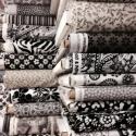 Fekete és fehér 46 féle  55 x 30 cm minőségi textil  USA design , Textil, Pamut, Kiváló minőségű - egyedi tervezésű - jogvédett termék -  Textil - akár - patchwork - anyag  USA Desi..., Alkotók boltja