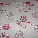 Bótrovászon extra spanyol design textil 140 cm - kevert 0,5 m adag, Textil, Pamut, Jó minőségű termék - extra spanyol  Textil - akár - patchwork - anyag  Design Textil  kevert szálas ..., Alkotók boltja