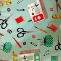 Próba babás és más kreatív  55 x 30 cm minőségi textil  USA design , Textil, Pamut, Alkotók boltja