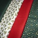 Méterben is - Apró mintás karácsonyi - több féle német design textil:  70 x 30 cm , Textil, Pamut, Kiváló minőségű - egyedi tervezésű - jogvédett termék -  Textil - akár - patchwork - anyag..., Alkotók boltja