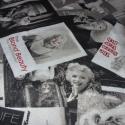 Marilyn Monroe bótrovászon extra design textil 140 cm - kevert 0,5 m adag, Textil, Pamut, Alkotók boltja