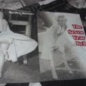 Marilyn Monroe Bútorvászon extra spanyol design textil 140 cm - kevert szálas, Textil, Pamut, Mindenmás, Varrás, Textil, Jó minőségű termék - extra spanyol  Textil - akár - patchwork - anyag  Design Textil  kevert szálas..., Alkotók boltja