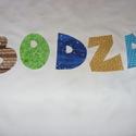 Tedd egyedivé gyermekeid ruháid - betűk - számok textilmatrica  - vasalható betűk, Textil, Felvarrható kellék, Alkotók boltja