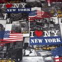 NEW YORK - LONDON - PÁRIZS montázs  patchwork holland design textil 75 x 30 cm minőségi  USA design , Textil, Pamut, Mindenmás, Varrás, Textil, Kiváló minőségű - egyedi tervezésű - jogvédett termék -  Textil - akár - patchwork - anyag  Holland..., Alkotók boltja