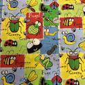 Lepkék - bogarak USA egyedi Design textil:o)  55 x 30 cm minőségi textil  USA design , Textil, Pamut, Kiváló minőségű - egyedi tervezésű - jogvédett termék -  Textil - akár - patchwork - anyag  USA Desi..., Alkotók boltja