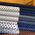 Alkotók! CSODÁS inverz textilek sok színben és mintával - nézd meg, Textil, Pamut, Alkotók boltja