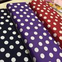 Pöttyösök  70 x 50 cm Asia design textil, Textil, Pamut, Kiváló minőségű - egyedi tervezésű - jogvédett termék -  Textil - akár - pachwork - anyag  Asia Desi..., Alkotók boltja