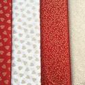 Karácsonyi arany nyomású német design textil 70 x 30 cm, Textil, Pamut, Kiváló minőségű - egyedi tervezésű - jogvédett termék -  Textil - akár - patchwork - anyag  Német De..., Alkotók boltja