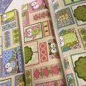 Több féle cuki új baglyos design textil 140 cm széles 100% pamut, Textil, Pamut, Mindenmás, Varrás, Textil, Jó minőségű termék -  Textil - akár - patchwork - anyag  Design Textil  100% pamut  kétféle  A bagl..., Alkotók boltja
