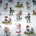 Gyerekek régi ruhában  egyedi USA Design textil:o) 55 x 30 cm minőségi textil , Textil, Pamut, Mindenmás, Varrás, Textil, Kiváló minőségű - egyedi tervezésű - jogvédett termék -  Textil - akár - patchwork - anyag  USA Des..., Alkotók boltja