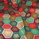 20 féle Karácsonyi patchwork mintás német design textil 70 x 30 cm , Textil, Pamut, Mindenmás, Varrás, Textil, Kiváló minőségű - egyedi tervezésű - jogvédett termék -  Textil - akár - patchwork - anyag  Német D..., Alkotók boltja