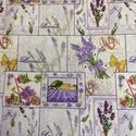 Varrással is - Levendula mánia design textil 70 x 50 cm minőségi  textil, Textil, Pamut, Mindenmás, Varrás, Textil, Kiváló minőségű - egyedi tervezésű - jogvédett termék -  Textil - akár - patchwork - anyag  100% de..., Alkotók boltja