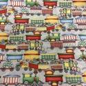 USA fiús gyerekmintás design textil 55 x 30 cm minőségi textil  USA design , Kiváló minőségű - egyedi tervezésű - jogvé...