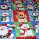 32 db blokk - Mézeskalácsos karácsonyi Design textil:67 x 30 cm, Textil, Pamut, Mindenmás, Varrás, Textil, Kiváló minőségű - egyedi tervezésű - jogvédett termék -  Textil - akár - patchwork - anyag  Karácso..., Alkotók boltja