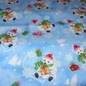 Jeges medvés karácsonyi Design textil:70 x 30 cm, Textil, Pamut, Mindenmás, Varrás, Textil, Kiváló minőségű - egyedi tervezésű - jogvédett termék -  Textil - akár - patchwork - anyag  Karácso..., Alkotók boltja