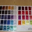 26  színben dekoratív szatén 150 cm 990.-Ft, Textil, Selyem, Alkalomra is jól felhasználható  Elegáns, kellemes  finoman fényes  dekoratív szaténok  26 színben  ..., Alkotók boltja
