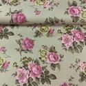 Bútorvászon vintázs rózsás több féle design textil 140 cm - kevert szálas, Textil, Pamut, Mindenmás, Varrás, Textil, Jó minőségű termék -   Design Textil  kevert szálas  Jól kombinálható  Mérete: 140 cm széles  1 m 1..., Alkotók boltja