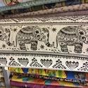 Bútorvászon- elefántos - rókás - baglyos design textil 140 cm - - varrással is, Textil, Pamut, Mindenmás, Varrás, Textil, Jó minőségű termék - extra spanyol  Textil - akár - patchwork - anyag  Design Textil  kevert szálas..., Alkotók boltja
