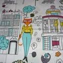 MOST!!! Csodásak! Nézd meg ! Szuper design textilek -100% pamut - 140 cm széles, Textil, Pamut, Mindenmás, Varrás, Textil, Kiváló minőségű - egyedi tervezésű - jogvédett termék -  Textil - akár - patchwork - anyag  100% de..., Alkotók boltja
