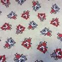 Karácsonyi vásár! Bútrovászon varrással is!  több féle extra spanyol design textil 140 cm - kevert szálas, Textil, Pamut, Alkotók boltja