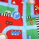 Gyerekmintás - közlekedés  75 x 30 cm minőségi textil - holland design , Kiváló minőségű - egyedi tervezésű - jogvé...