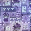 Patchwork mintás - több féle design textil 70 x 50 cm minőségi  textil, Textil, Pamut, Mindenmás, Varrás, Textil, Jó minőségű, divatos dekor pamutvászon  Felhasználás: felsőruházat, lakástextil ágynemű. falvédő, f..., Alkotók boltja