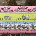 Csupa bagoly -Sok-sok minta - 100% pamut gyerekmintás textilek, Textil, Pamut, Jó minőségű, divatos dekor pamutvászon  Felhasználás: felsőruházat, lakástextil ágynemű...., Alkotók boltja