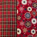 Akciós ár! Karácsonyi mintás minőségi német design textilek  140 cm, Textil, Pamut, Kiváló minőségű - egyedi tervezésű - jogvédett termék -  Textil - akár - patchwork - anyag  Német De..., Alkotók boltja
