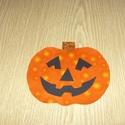 Csomagban is - Helloween Textil applikáció - vasalható - denevér, macska, szellem és tök , Textil, Felvarrható kellék, Dobd fel ruhatárad!  Vasalható textil applikáció - rátét  Újdonság!!!  masnis denevér , szellem, süt..., Alkotók boltja