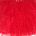 16. textil csomag 2,8 m piros flitterezett puha tüll 140 cm, Textil, Bársony, Mindenmás, Varrás, Textil, 16. TEXTIL CSOMAG  140 CM SZÉLES  flitterrel díszített puha piros tüll Sokkal szebb, mint a fotón  ..., Alkotók boltja