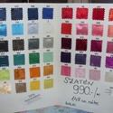 56 színben dekoratív szatén 150 cm 990.-Ft, Textil, Selyem, Varrás, Mindenmás, Textil, Alkalomra is jól felhasználható  Elegáns, kellemes  finoman fényes  dekoratív szaténok  56 színben ..., Alkotók boltja