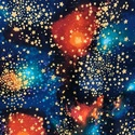 ŰR és BOLYGÓ MINTÁS, USA design textilek - 4 féle, Textil, Vászon, Mindenmás, Varrás, Textil, Jó minőségű termék -  Textil - akár - patchwork - anyag  ŰR ÉS BOLYGÓ MINTÁS   100% pamut, jogvédet..., Alkotók boltja