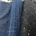 ŰR és BOLYGÓ MINTÁS, USA design textilek - 4 féle, Textil, Vászon, Alkotók boltja