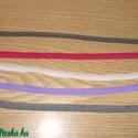 Pikós gumi - több színben - 8 - 10 - 12 mm, Textil, Szalag, pánt, Varrás, Több színben pikós gumi  fehér, nagyon pink, szürke, lila, világoskék, szürkés keki, pezsgő  8 - 10..., Alkotók boltja