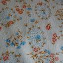Virágos flanel anyag - Takacsmarcsika részére, Textil, 140x190cm virágos flanel anyag, Alkotók boltja