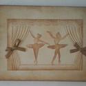 Emlékmegőrző - album - balettáncosok -  zene , színház, balettkedvelőknek, Naptár, képeslap, album, Mindenmás, Jegyzetfüzet, napló, Hangszer, zene, Papírművészet, Zene-, színház- és balettkedvelő barátodnak, autogramgyűjtőknek,  balett(tánc)tanárodnak adhatod aj..., Meska
