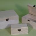 Téglalap lakú doboz - KICSI, Fa, Doboz, Kicsi: 12 x 6 x 5,5 cm  , Alkotók boltja