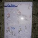 3D kép - (menyasszony/vőlegény) esküvői mintával, Dekorációs kellékek, Papír, Mindenmás, Papírművészet, Le Suh márkájú 3D kép készítő lapok.   Több féle mintával.  Nem elővágottak.   A/5-ös méter., Alkotók boltja