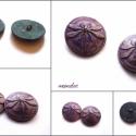 Szitakötő gyurma gombok Juditnak, 2db, Judit megrendelésére készítettem ezeket a szit...